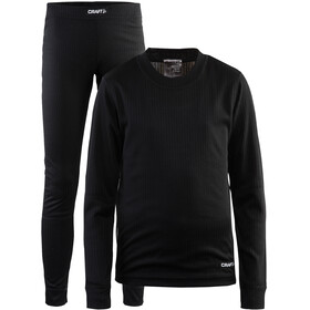 Craft Baselayer Set Junior black